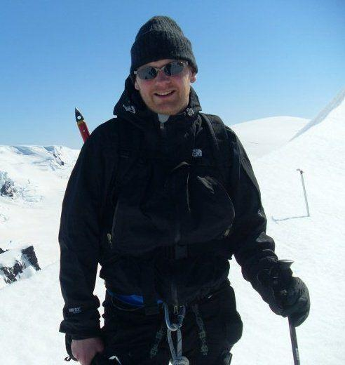 On Vatnajökull glacier. It is lovely!