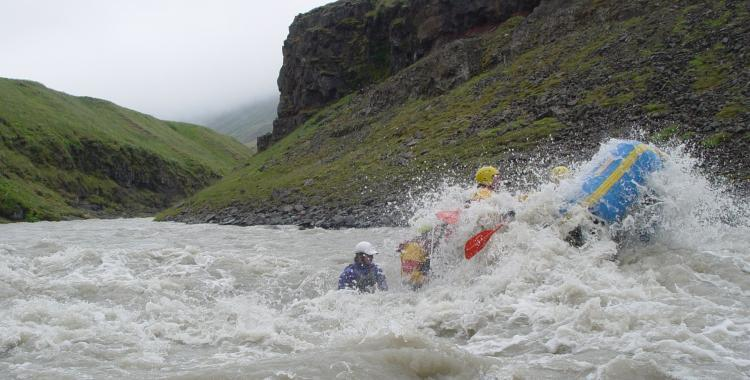 Rafting jump