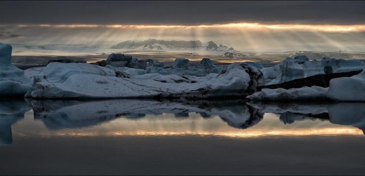 The Amazing Jökulsárlón glacial lagoon. Photo by Martin Schulz.
