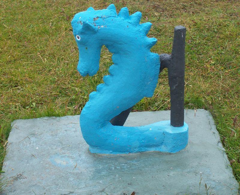 A sea horse by Samúel Jónsson