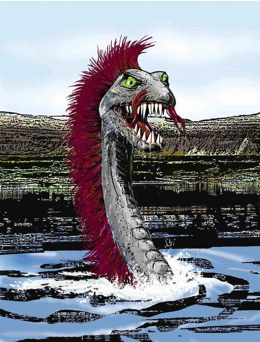The Combed Monster is a fearsome beast and a threat to all fishermen.