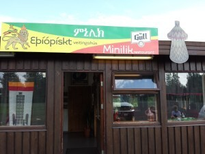 The resturant Minilik in Flúðir is dedicated to Ethiopian cuisine