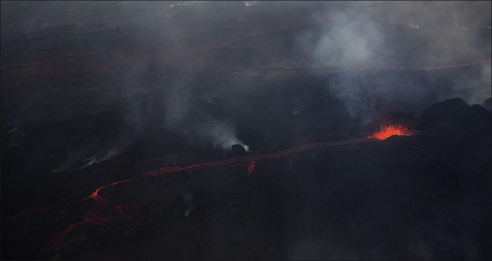 River of lava