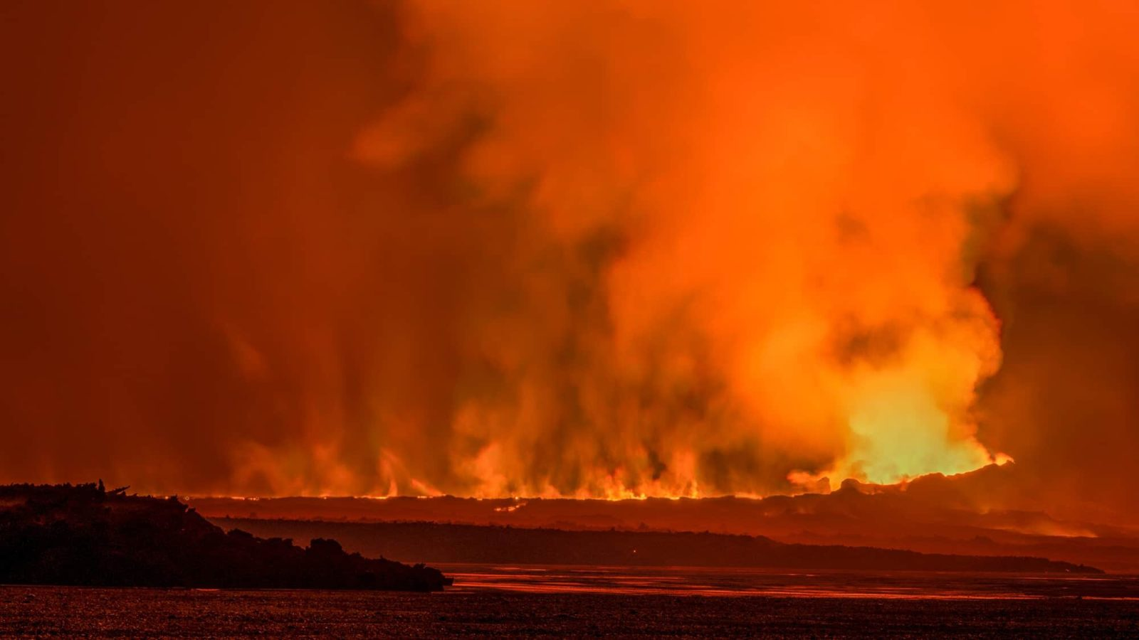 The Holuhraun eruption got pretty intense.