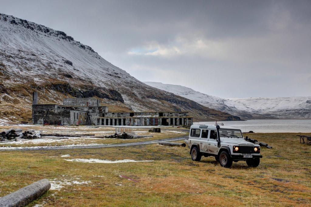 Feeling alone in Ingolfsfjordur.