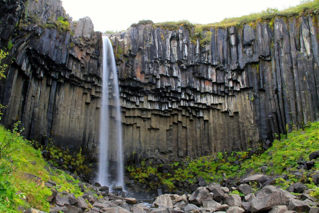 Svartifoss Waterfall.