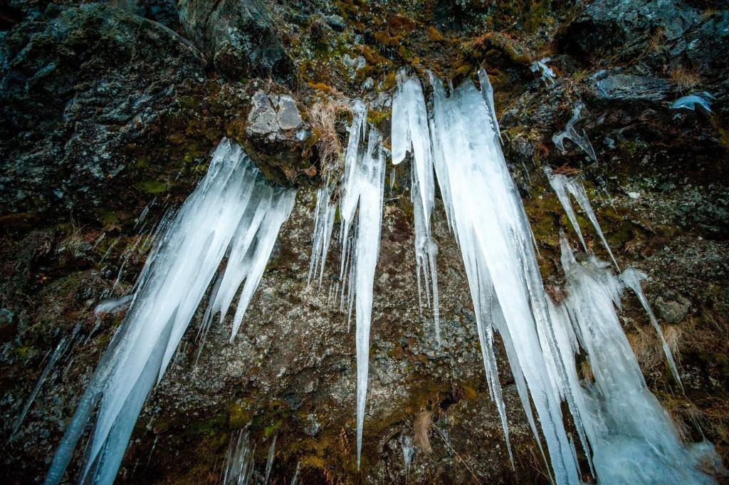 Frozen Iceland.