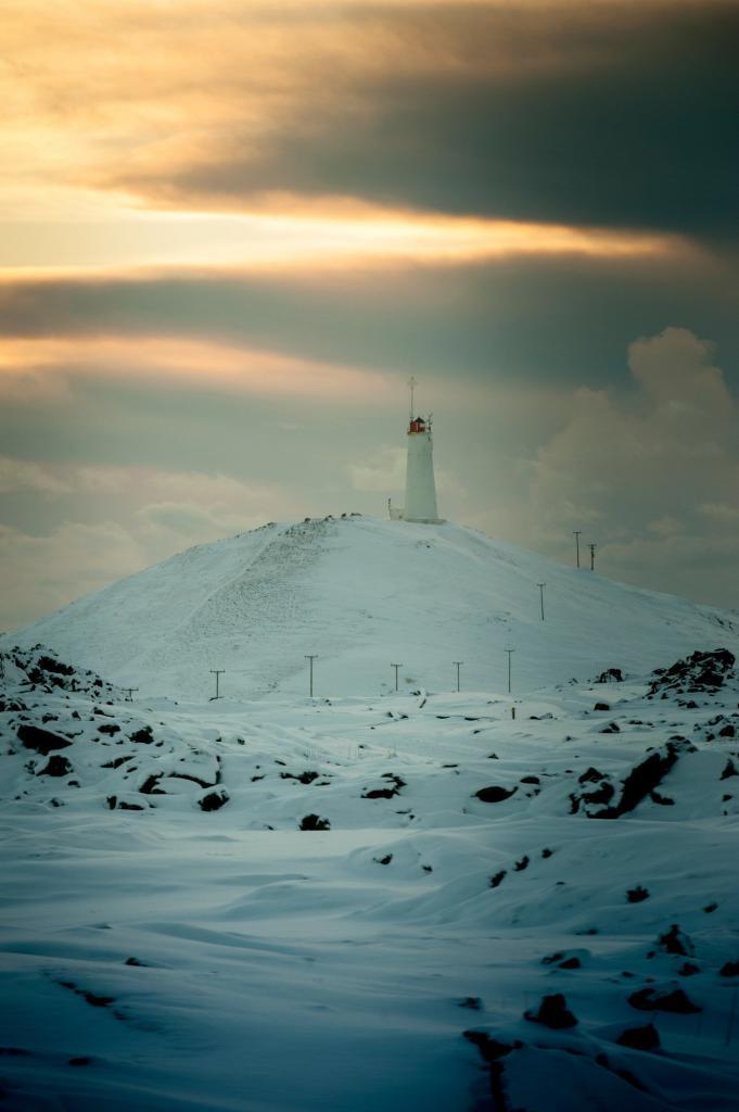 Reykjanesviti Lighthouse.