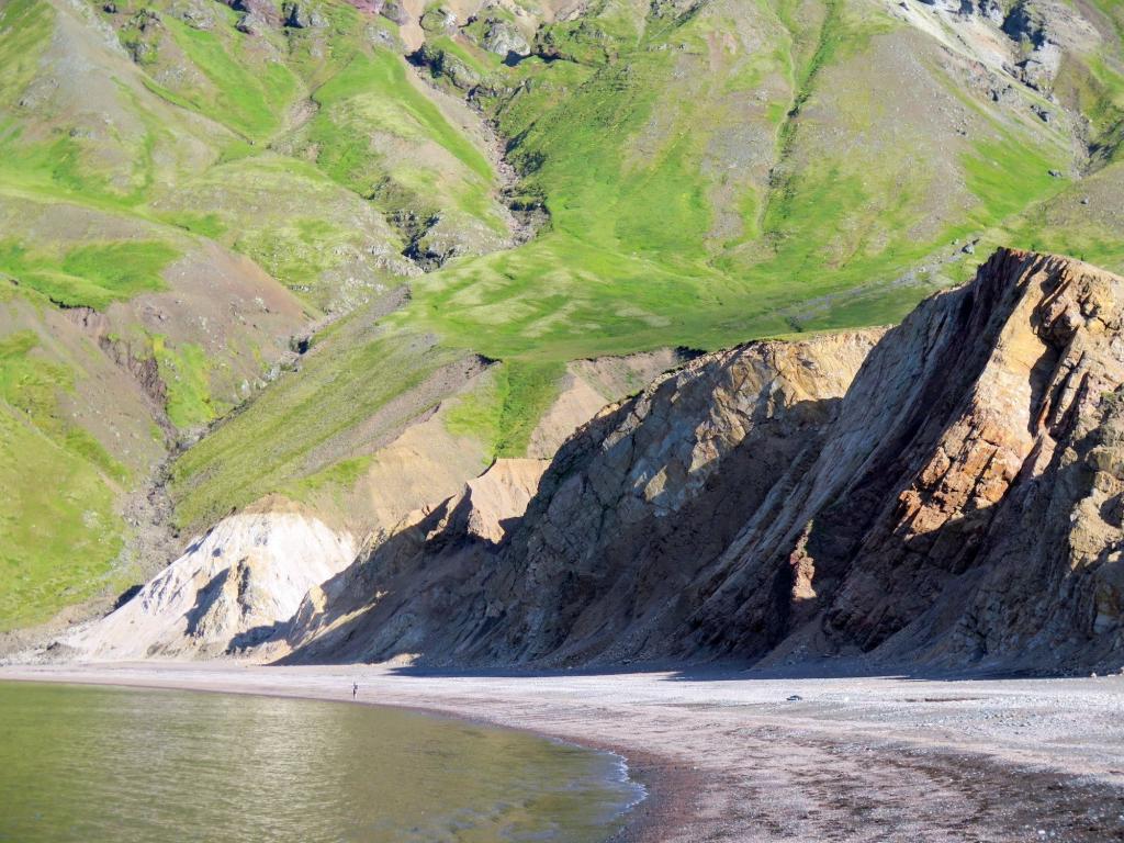 Brúnavík cove in the Eastfjords of Iceland.