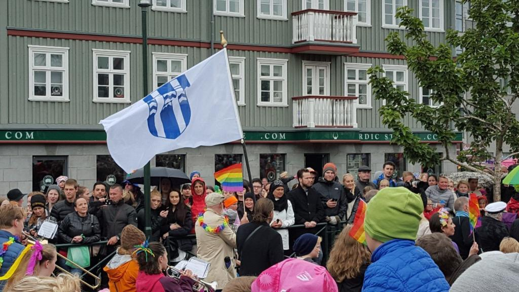 The City Council of Reykjavik joined the parade.