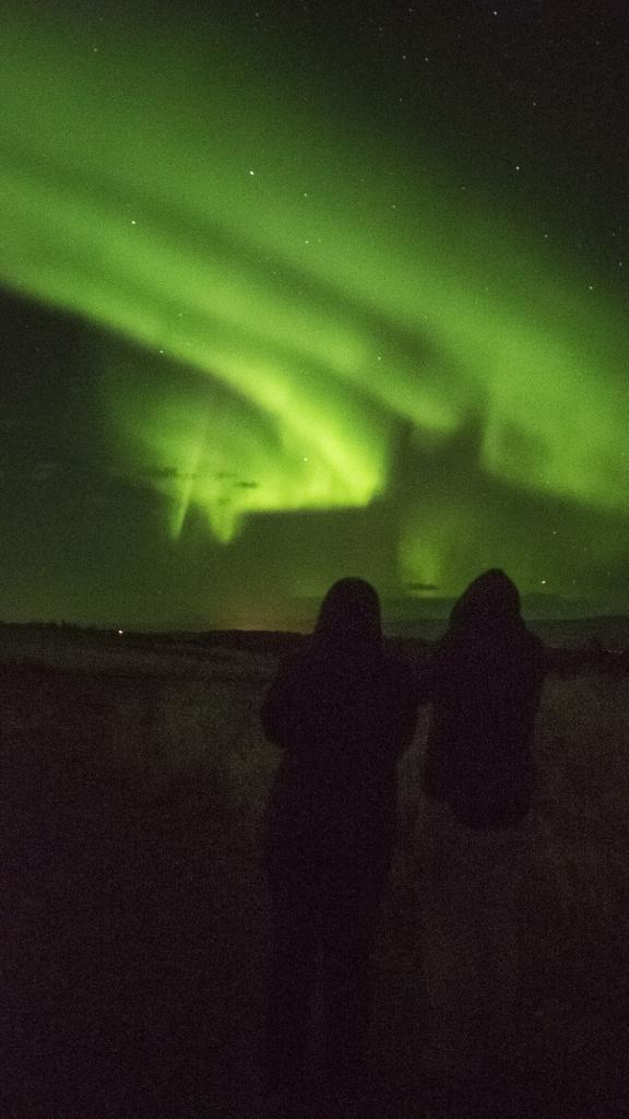 Iceland has the northern lights. Argentina has the southern lights.