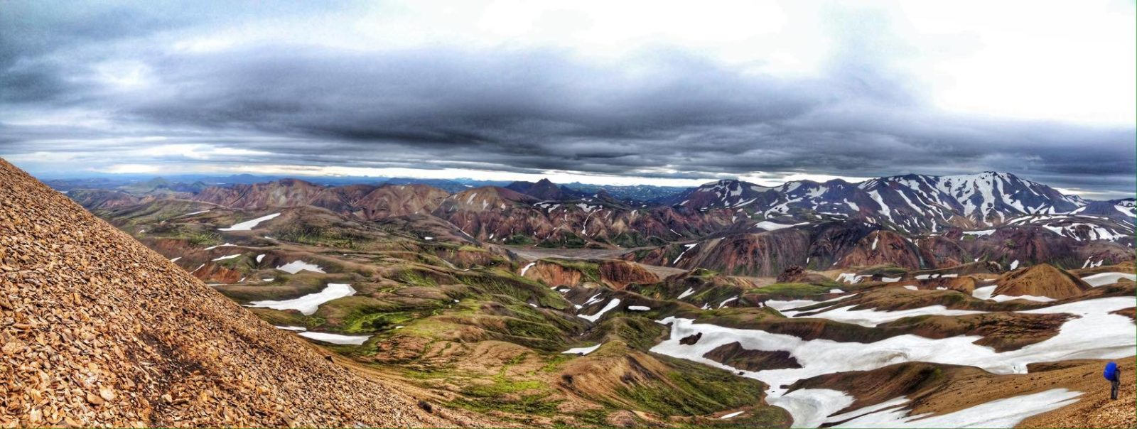 The colors of Landmannalaugar.