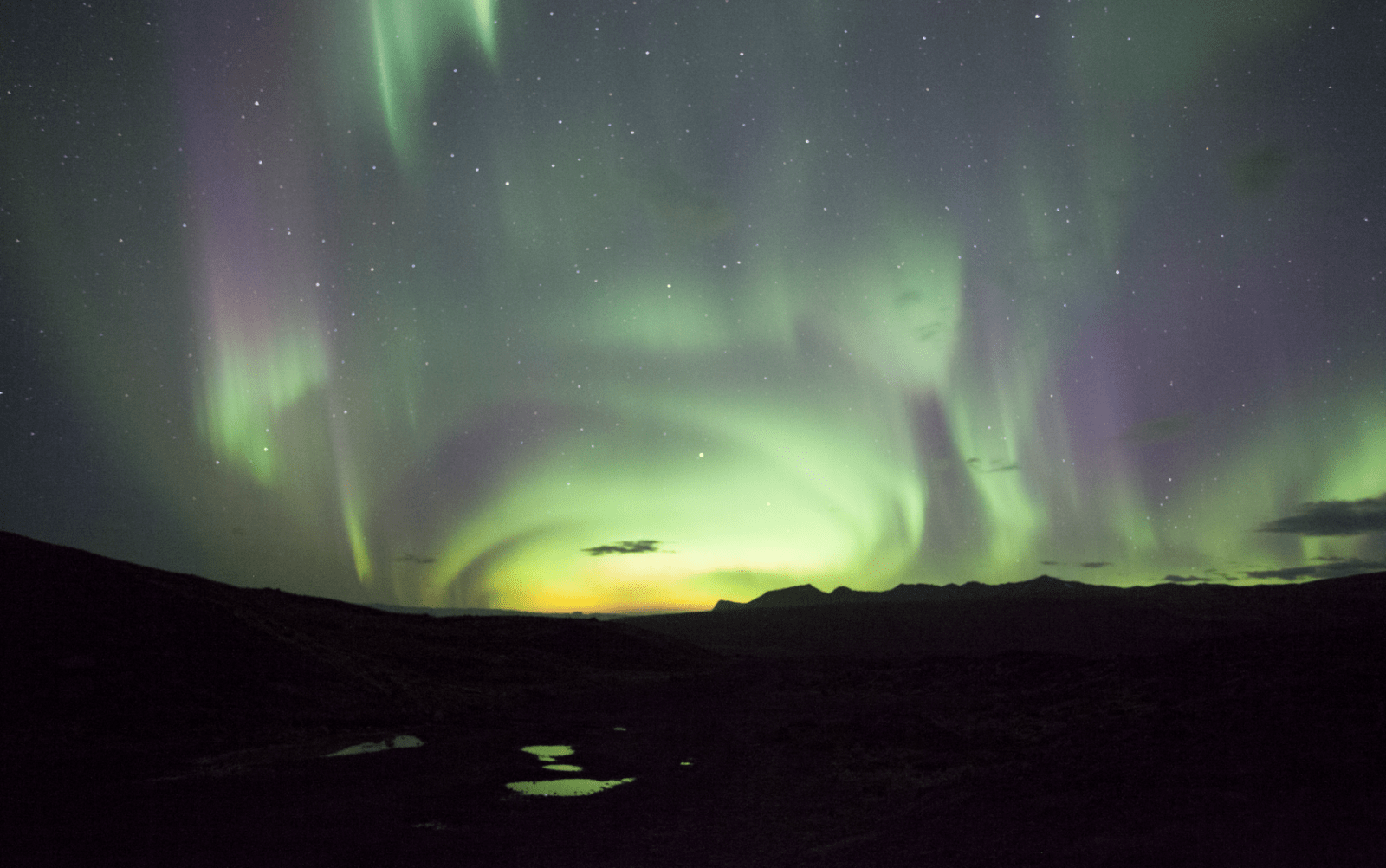 Lovely northern lights.