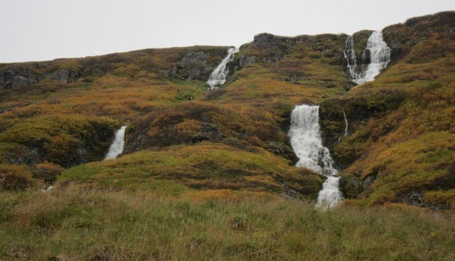 There is no shortage of waterfalls in Iceland.