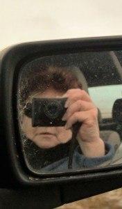 The aspiring author Heather D. Linnett photographing Iceland.