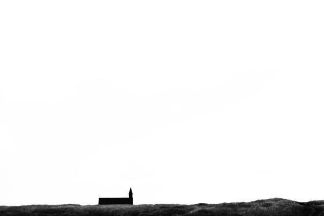 Church at Budir in Snæfellsnes Peninsula.