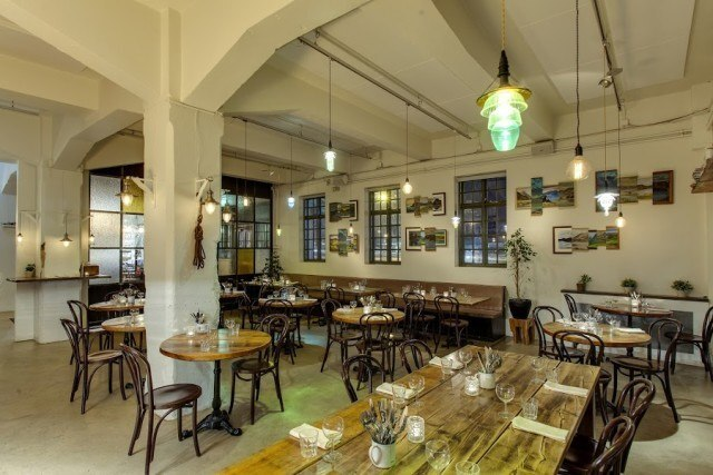 This used to be a salt fish factory. Now it is a trendy restaurant. That is modern times for you.