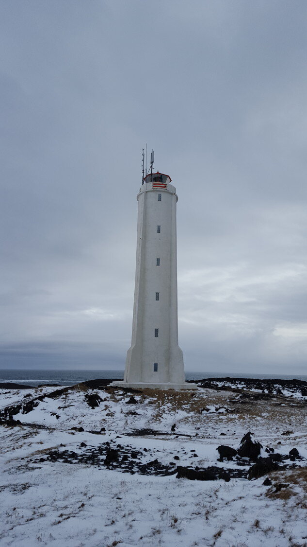 The lighthouse at Malarrif.