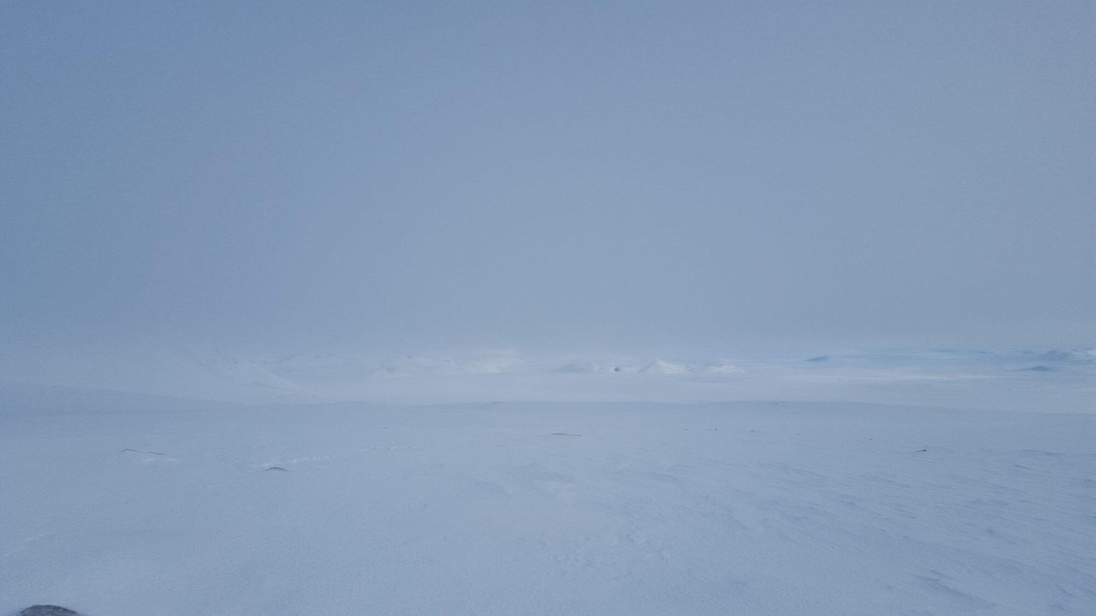 Glacier view.