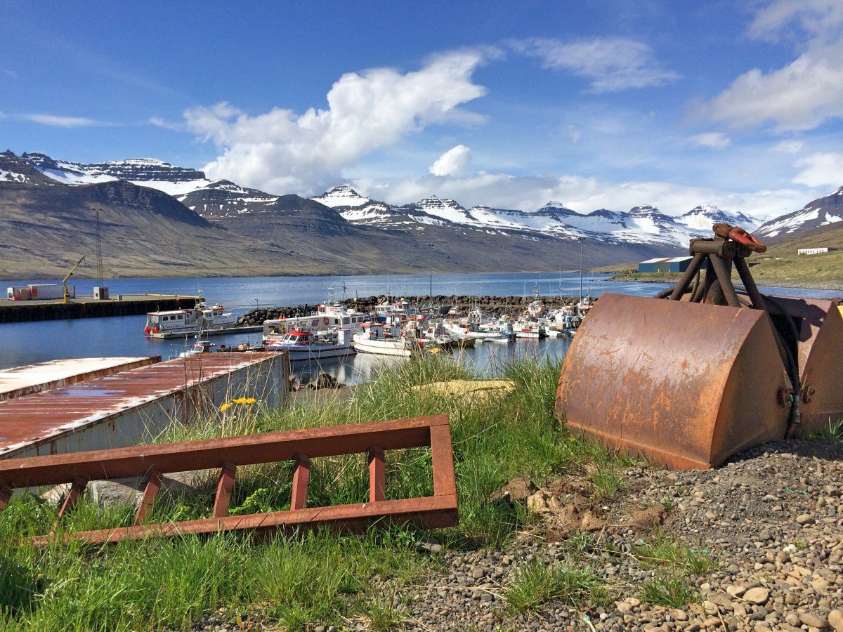 Rusting in the East of Iceland.