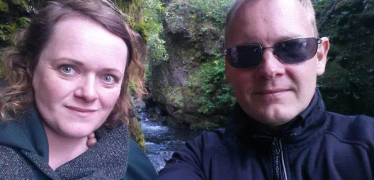 Jón and Hallveig, the editors of Stuck in Iceland Travel Magazine