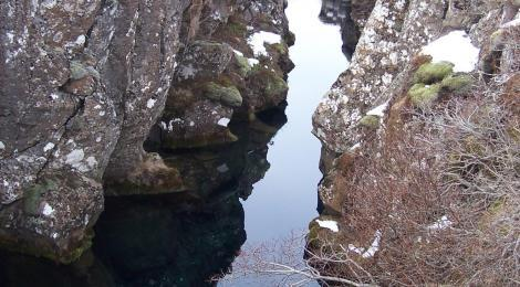 One popular activity in Thingvellir is diving into the water filled crevices. It is reportedly a thrill to dive in the clear water but be careful as there have been some accidents lately.