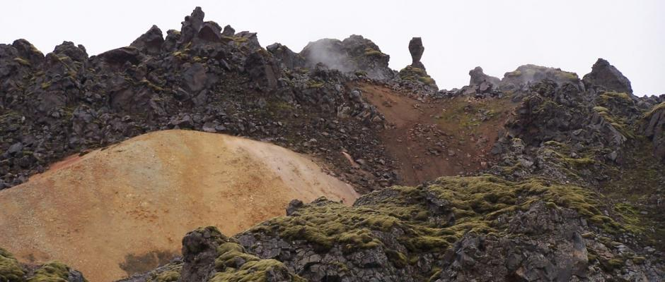 The landscape on the Laugavegur hiking trail is out of the world