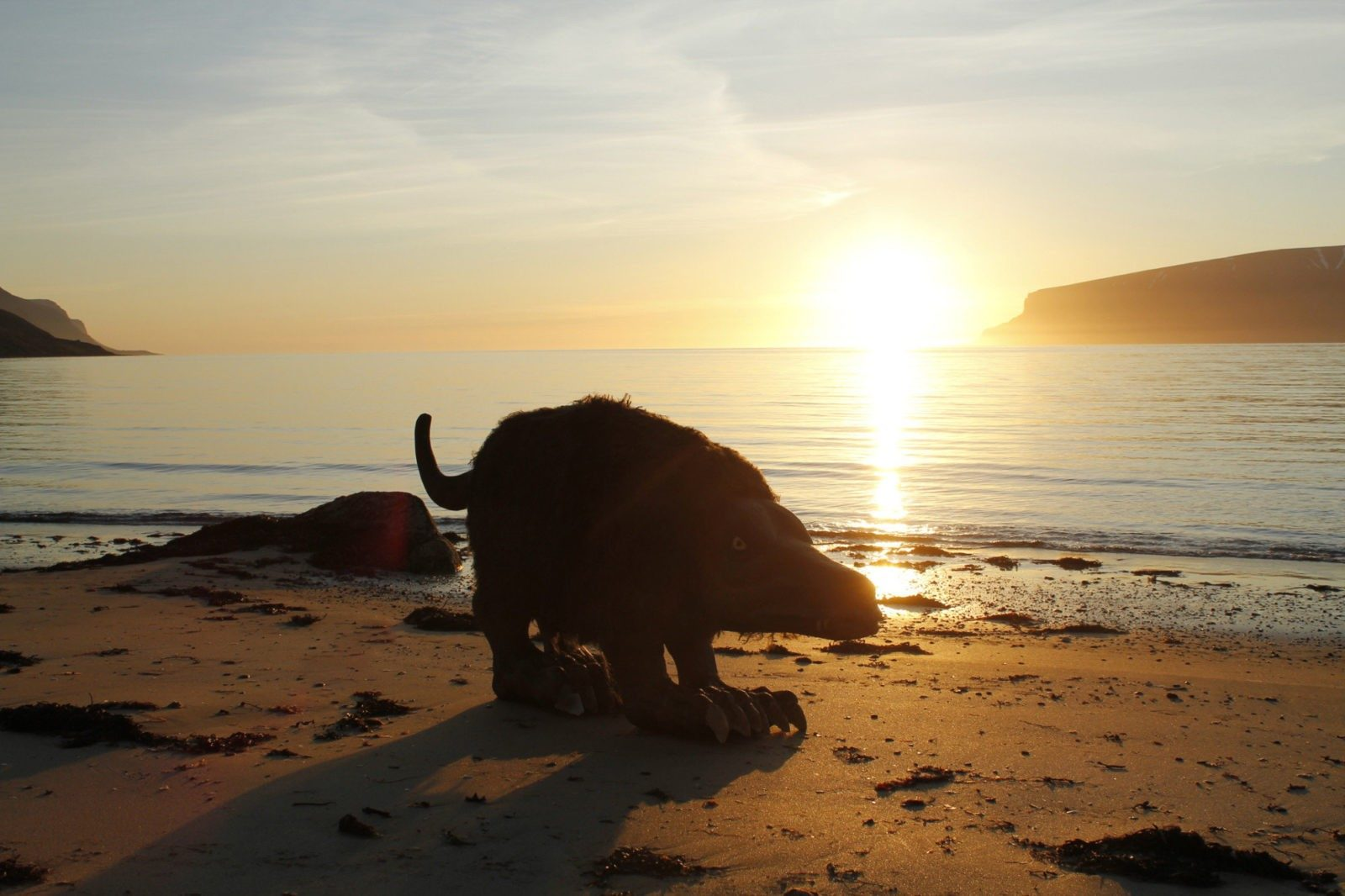 Fjorulalli or Sea Laddie sometimes prowls the beaches in search of tourists or other humans.