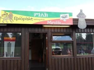 The resturant Minilik in Flúðir is dedicated to Ethiopian cuisine