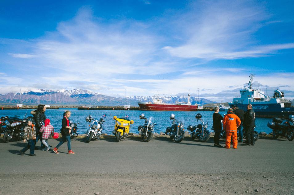 The harbor at Dalvik