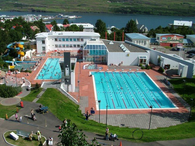 The Akureyri swimming pool is nice. Photo credit: Visit Akureyri.