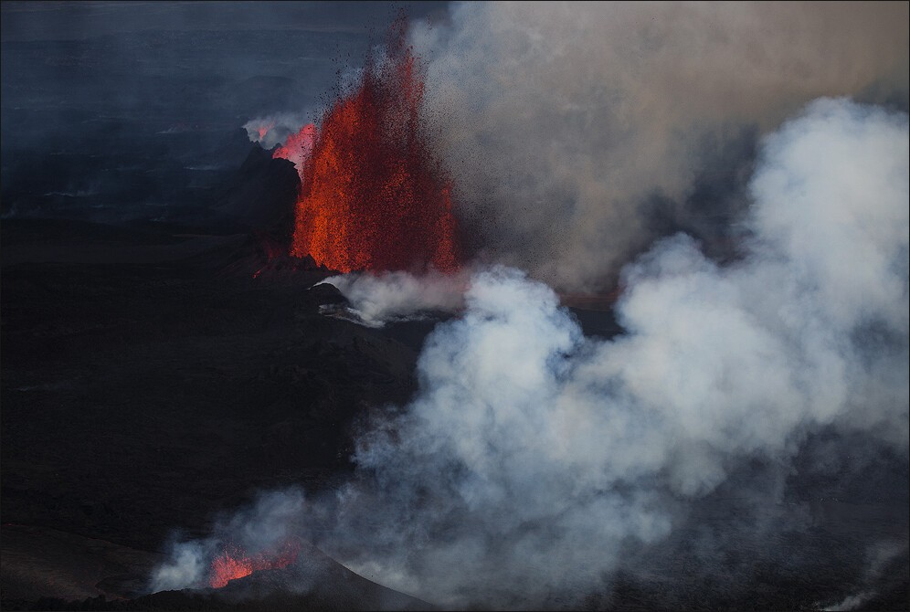 Mordor? No it is actually Holuhraun