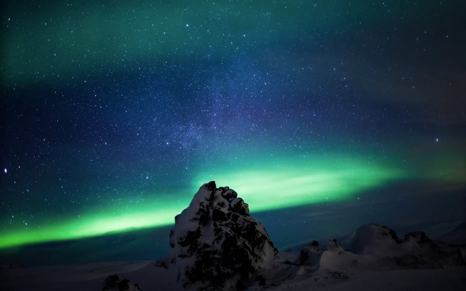 You can´t make a film about Iceland and not feature the northern lights.