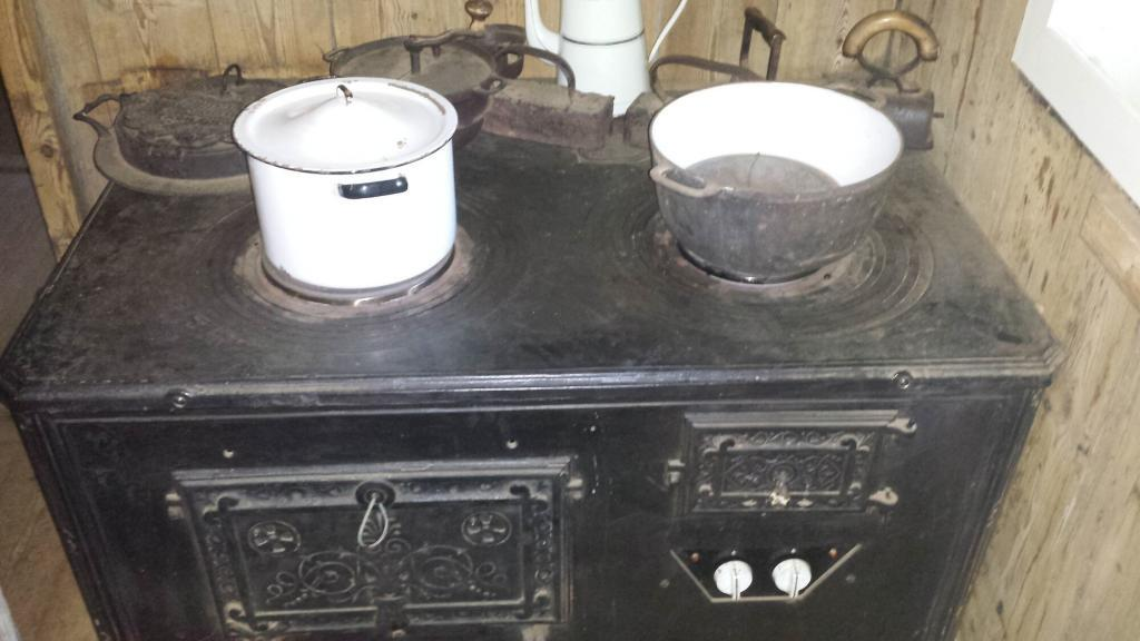 This stove was revolutionary back in the day.