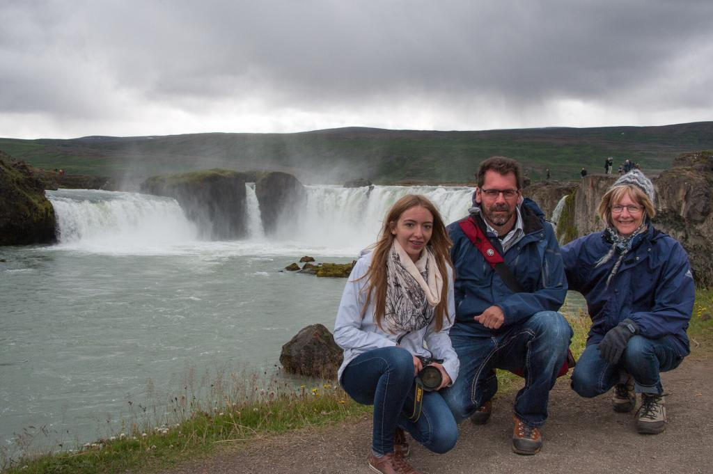 The family trip around Iceland.