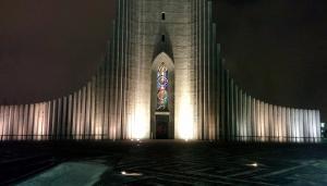 The iconic Hallgrímskirkja cathedral.