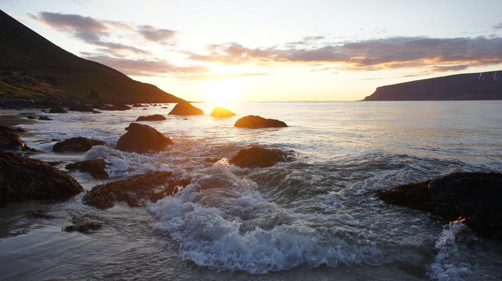 Beautiful fjord of Bildudalur.