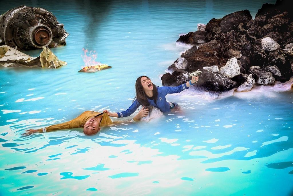 The Interstellar Battle of the Blue Lagoon
