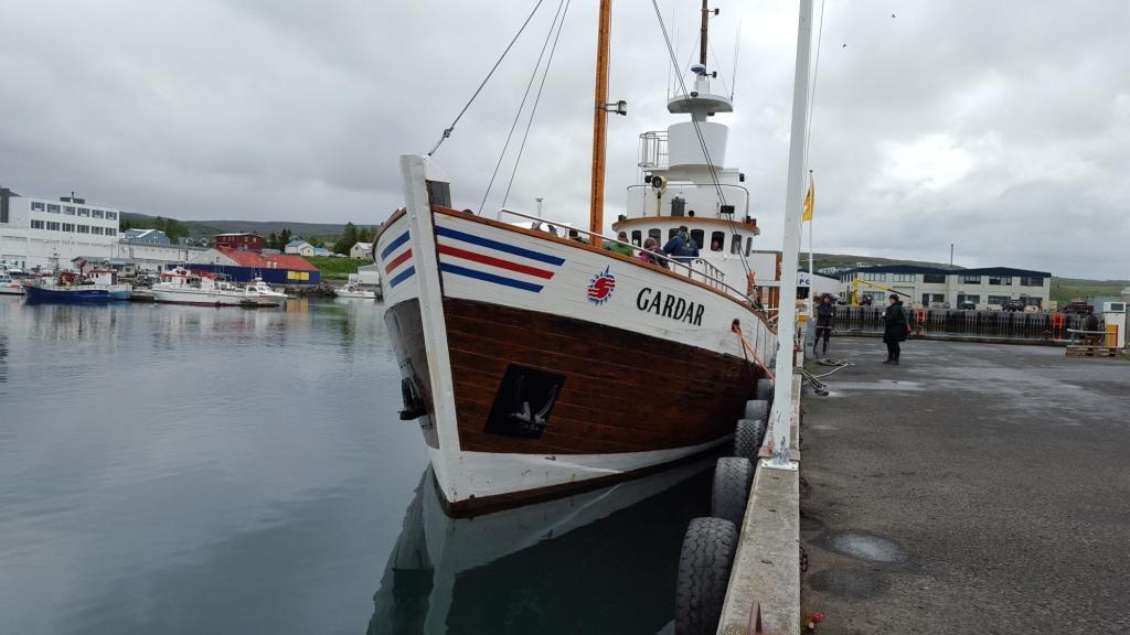 Gardar Whale Watching Boat.