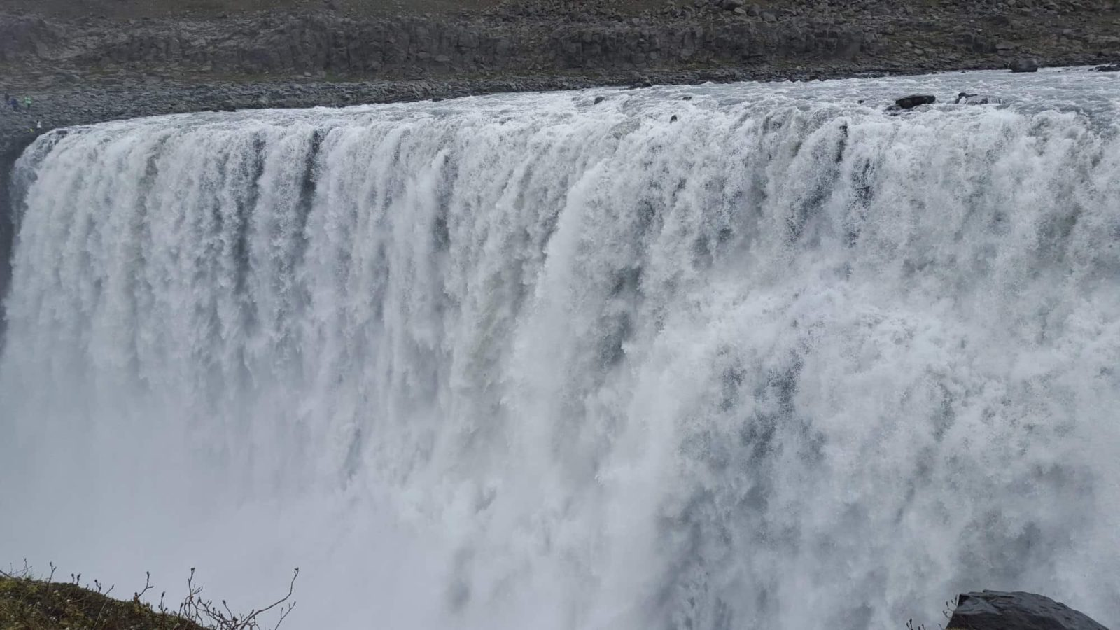 Hail to the King! Dettifoss Waterfall in north eastern Iceland.