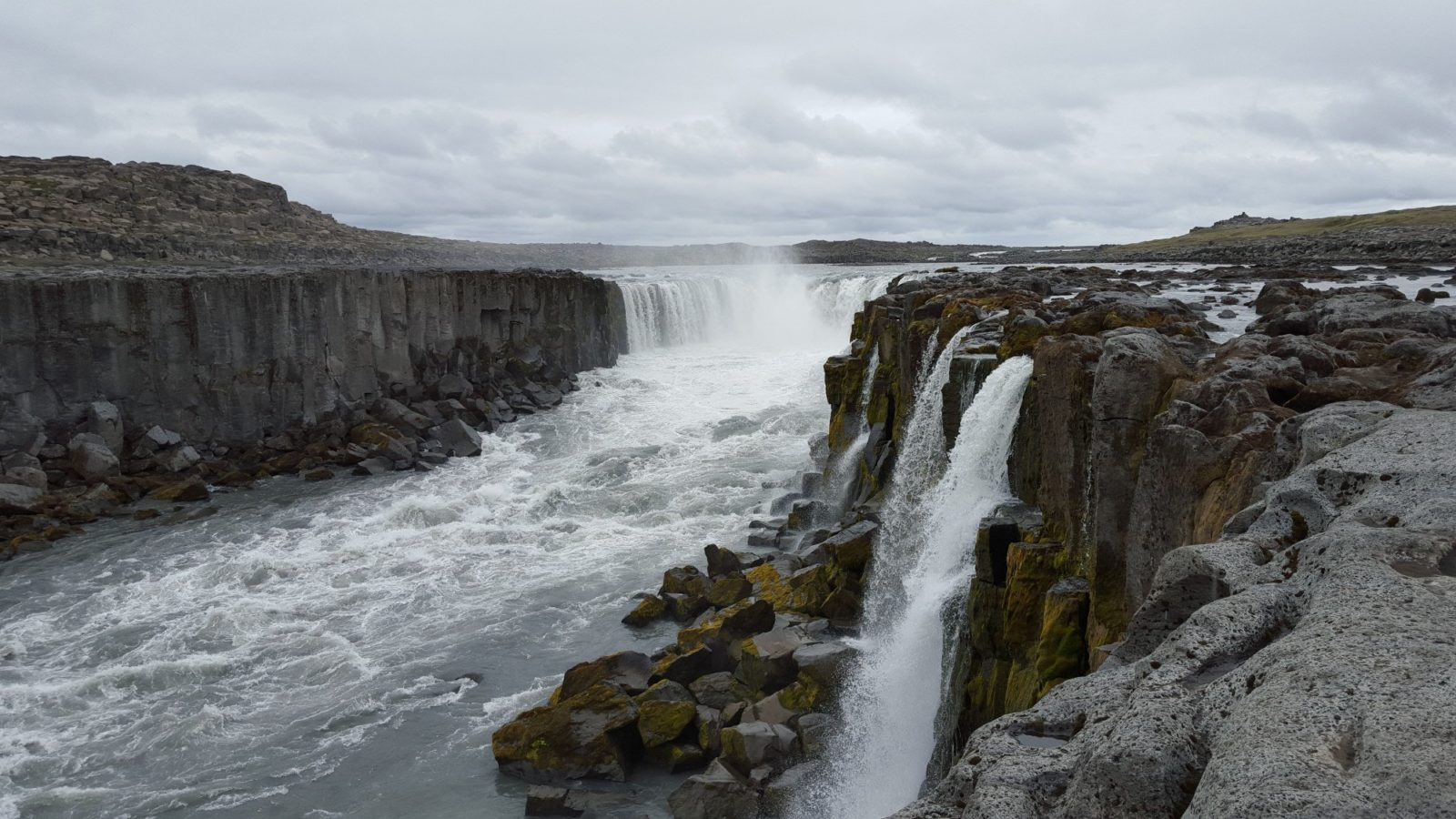 Dettifoss Waterfall Pay Your Respect To The King Of