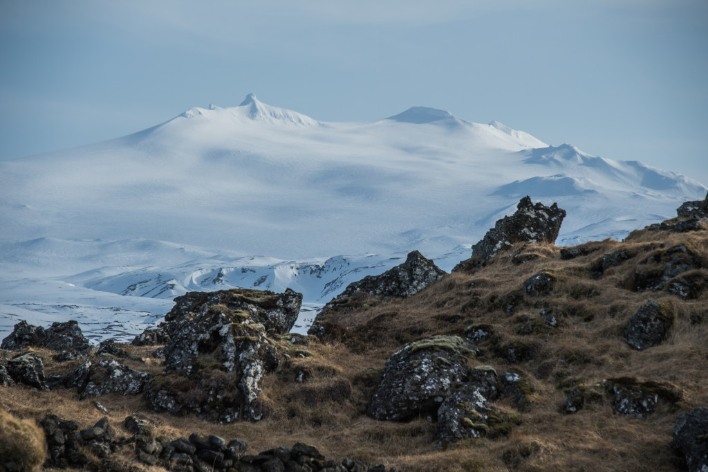 Snæfellsjökull glacier. Being at the top there is incredible.