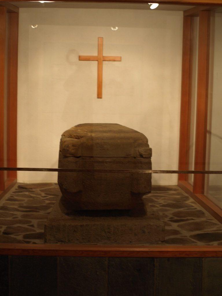 Sarcophagus of Pall bishop.