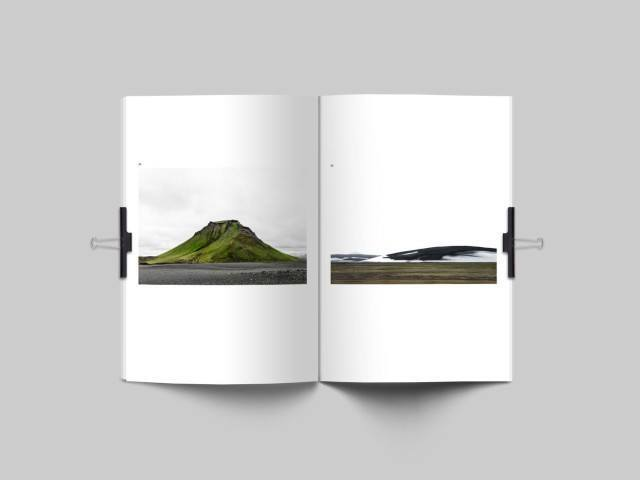 The Materia Instabile features some 40 pictures from the Icelandic highlands.