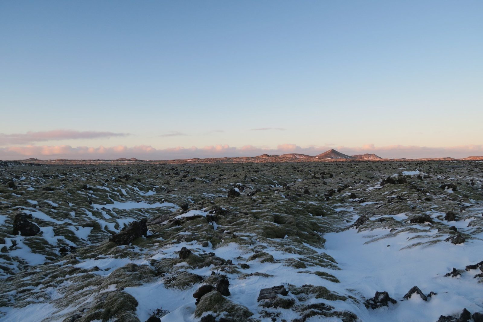 In case you were wondering, this is Iceland in winter.
