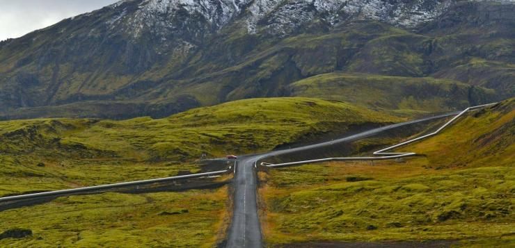 The Road to Lake Hafravatn. Get great deals on Iceland road trips on the Iceland Travel website.