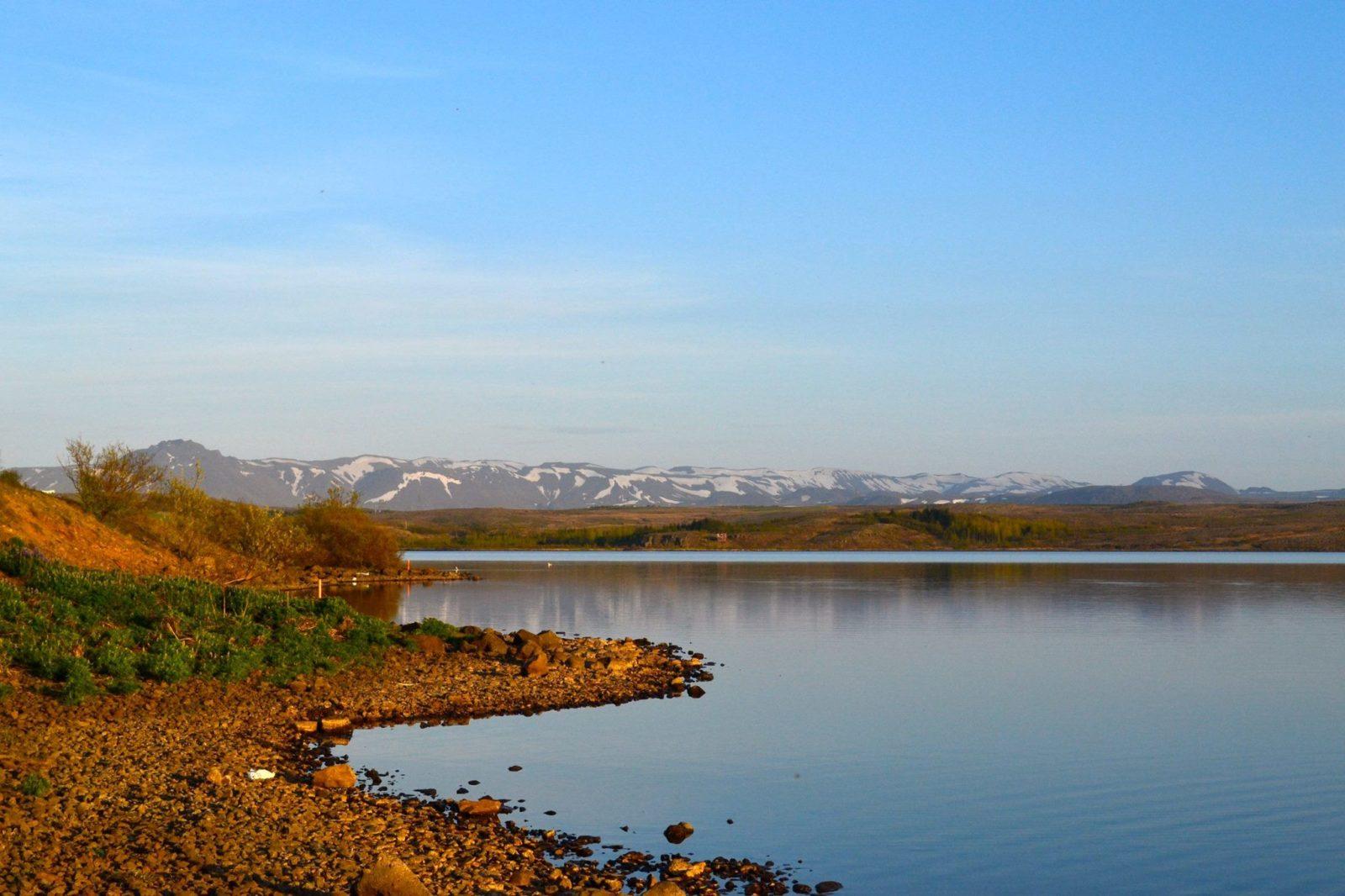 Lake Hafravatn.