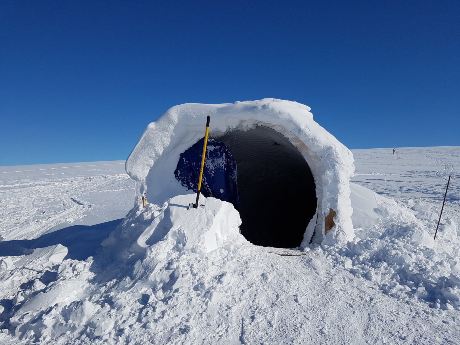 No this is not a remote research station where aliens lurk inside. This is a lot better.