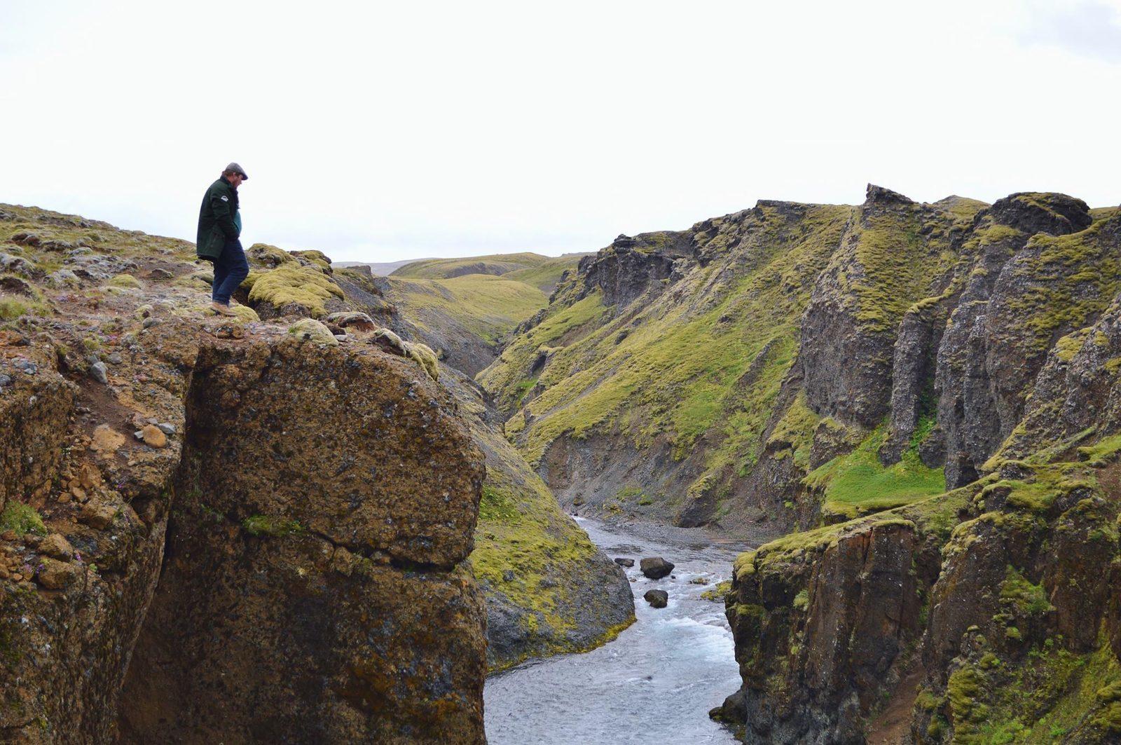 Stóru Laxárgljúfur canyon - it is endangered.