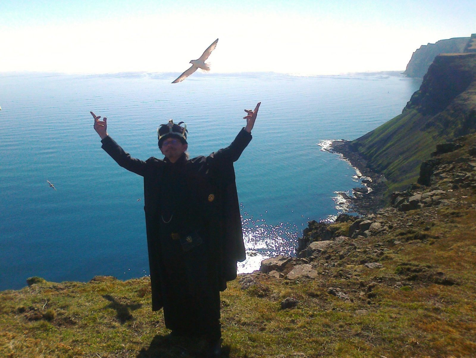 The King Basks in the Beauty of the Westfjords.